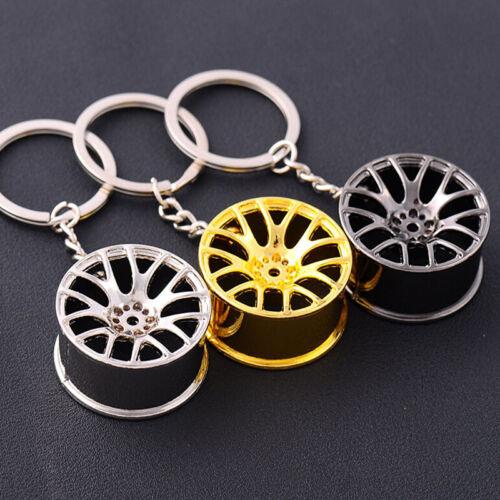 Tragbare Auto Radnabe Turbo Schlüsselbund Neuheit Schlüsselbund Tasche Anhänger