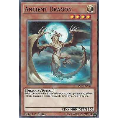 YU-GI-OH YS15-END05 Axe Dragonute YUYA /& DECLAN STARTER DECK