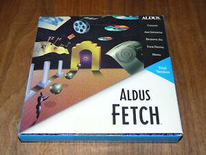 Aldus Fetch 1.0 englische Version Rarität