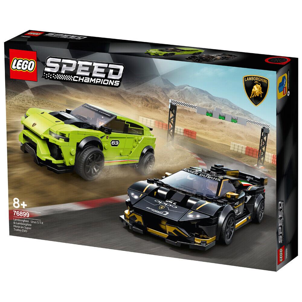 Lego Speed Champions Lamborghini Urus ST-X & Huracán Super Trofeo EVO