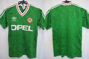 560393cd8b26 1990-1992 Republic of Ireland FAI Vintage Retro Jersey Shirt Home ...