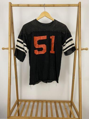 VTG 40s 50s Varsity Football Thick Padded Shoulder