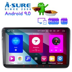 9-034-Octa-Core-Android-9-0-64-GB-ROM-GPS-WLAN-Autoradio-Navi-fuer-VW-Passat-Golf-5