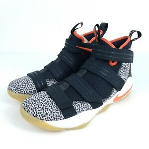best cheap 5ac58 604e2 Image is loading NIKE-Lebron-Soldier-XI-SFG-Safari-Mens-10-
