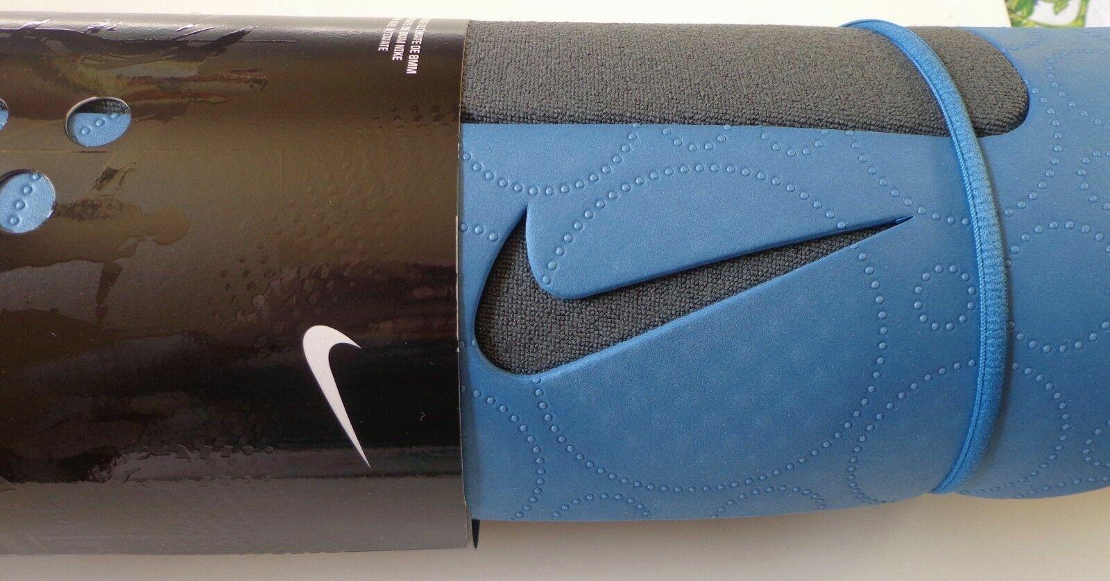 Nike Ultimate Yoga Pilates Mat 8mm Color Shade Blue Anthracite For Sale Online Ebay