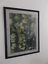 """thumbnail 5 - Autumn Leaves Watercolor Painting Framed Sweden Olle Dahlberg Large 42"""" x 32"""""""