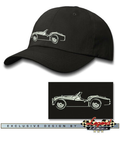 British Car Triumph TR2 TR3 Convertible 1955 Multi Color 1962 Baseball Cap