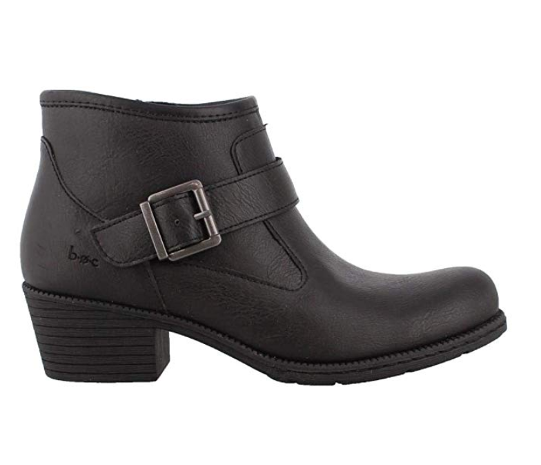 NEW BORN B.O.C. OPHELIA BLACK ANKLE BOOTS WOMENS 8 Z36009