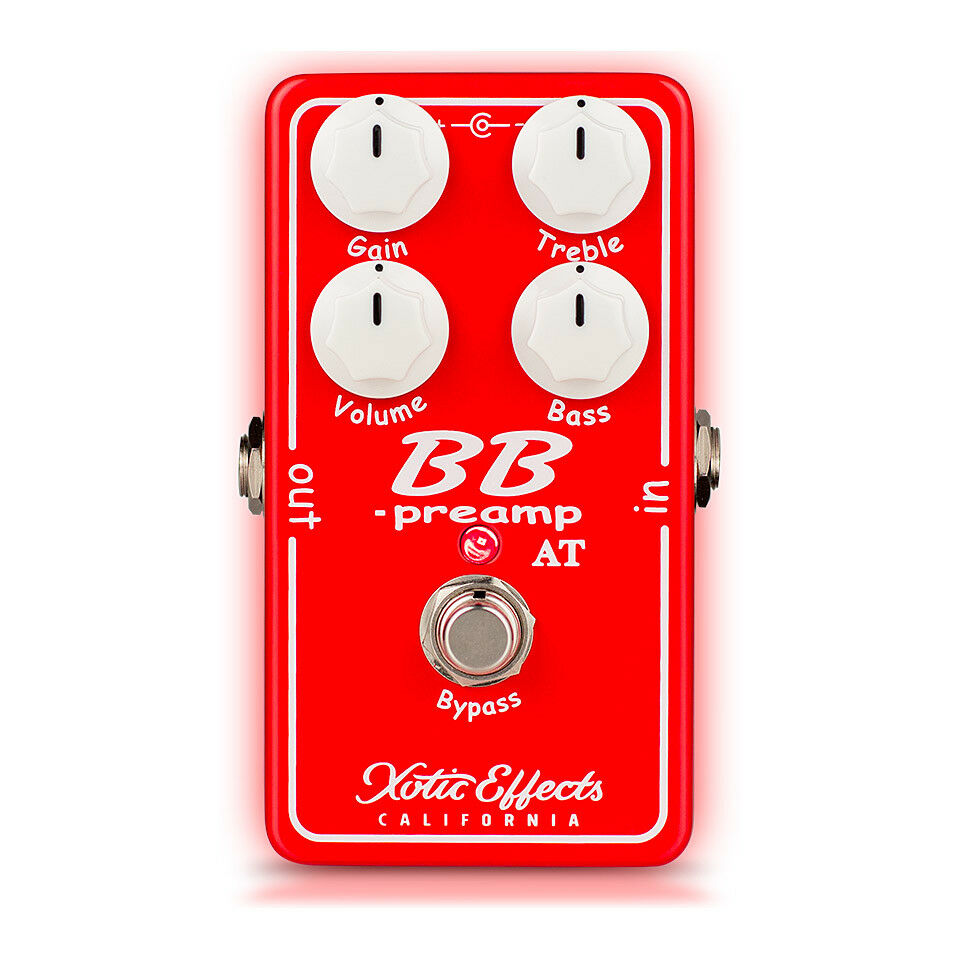 Xotic Effects BB Preamp AT Andy Timmons Overdrive Guitar Effect Pedal New BBP-AT