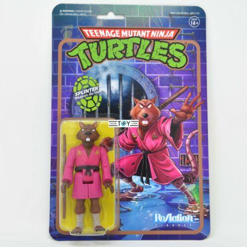 Super 7 Reaction Teenage Mutant Ninja Turtles Splinter Teenage Mutant Ninja Turtles action figure