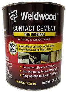 Details about DAP Weldwood 273 Original Contact Cement 1 GALLON