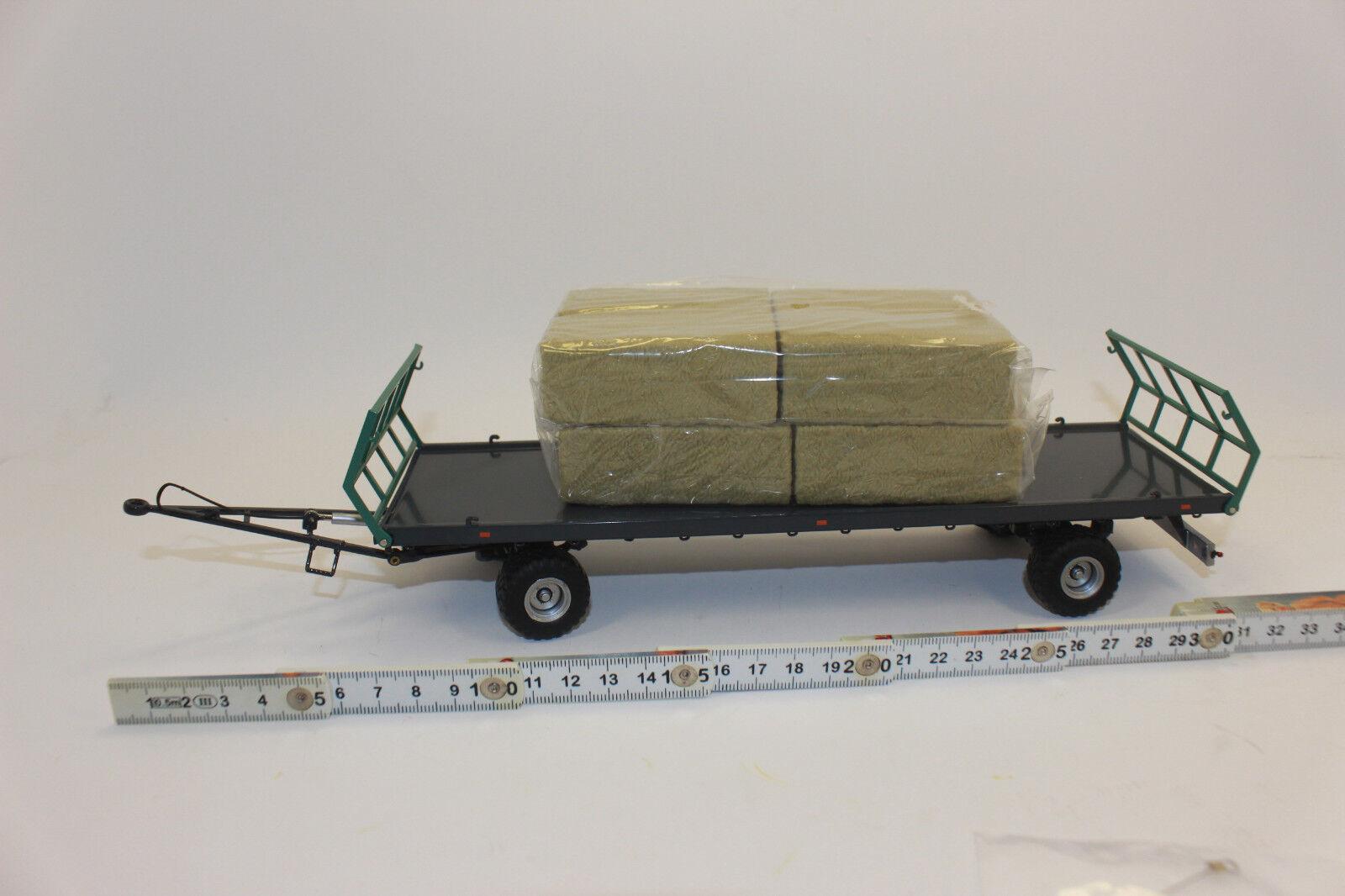 Wiking Wiking Wiking 077831 Oehler ZweiachsBale wagon transport ZDK 120 B 1:32 | élégante  eb9002