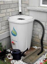 Rain Barrel With Brass Spigot  55 Gallon water Catcher