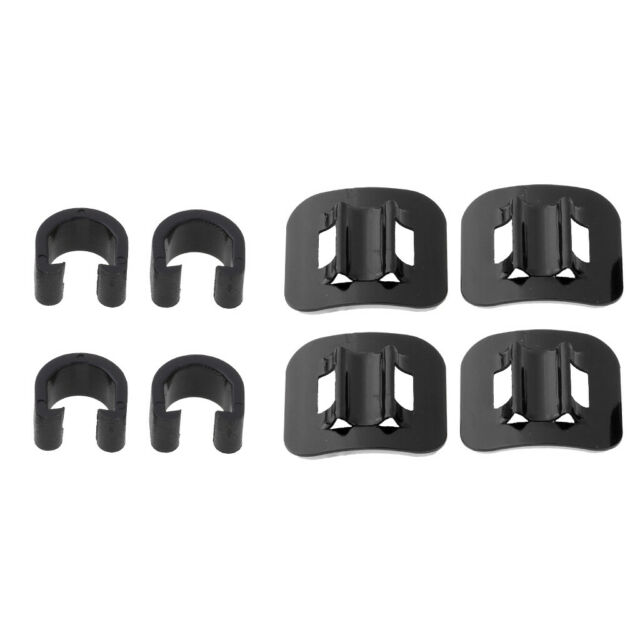 Base Clip Tie Cycling 4Pcs Bike Brake Cable Guide Fitting Line Housing