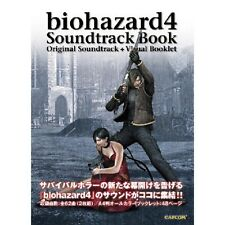 JAPAN Resident Evil 4 Biohazard Soundtrack book