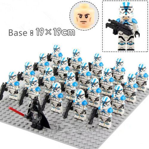 20x 501st STAR WARS Armee Held Clone Troopers Minifiguren Fit Lego Spielzeug