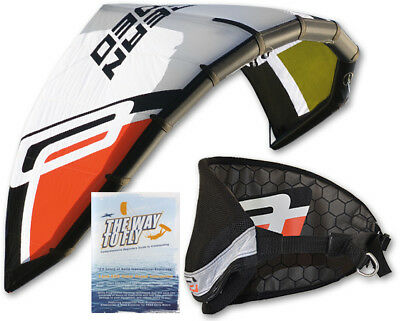 Ocean Rodeo React 2m Trainer Kite With Bar Lines Harness