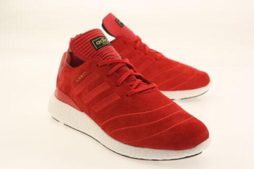 Adidas Men Busenitz Pure Boost red scarlet white F37885