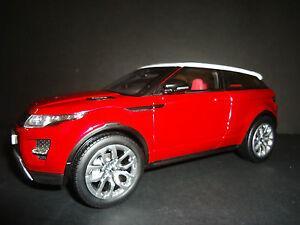 Welly-Land-Rover-Range-Rover-Evoque-2014-Rojo-1-18-Alta-Calidad-Version