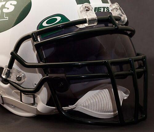 DARK GREEN NEW YORK JETS Schutt ROPO-DW Football Helmet Facemask//Faceguard