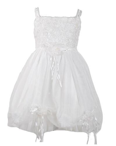 Flower Girls Party Dress Baby Christening Dress 6 9 12 18 24 2-3 Years