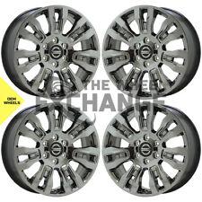 20 Nissan Titan Xd Smoked Dark Chrome Wheels Rims Factory Oem Set 62728 Fits Nissan Titan Xd