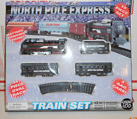North Pole Express 18 Piece Battery Power Train Set In Box