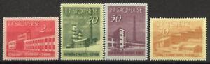 Albanien-1963-Mi-784-787-Postfrisch-100-Industrie