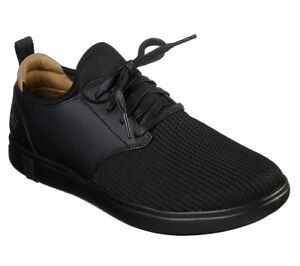 2b119a1da38e Image is loading 55461-Black-Skechers-shoes-Men-Casual-Comfort-Go-