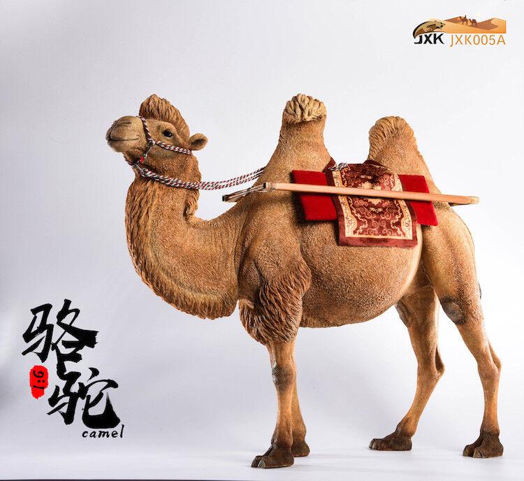 JxK.Studio 1 6 Bactrian Camel Camelus Simulation Resin Animal Model Model Model Jxk005A bd7a8b