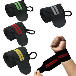 Weight-Lifting-Training-Fitness-Gym-Wrist-Wraps-Bandage-Hand-Support-Strap-HOT