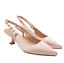 Lady-039-s-Rhinestones-Slingbacks-Party-Bride-Kitten-Med-Heel-Pump-Shoes-Evening-Sz thumbnail 11
