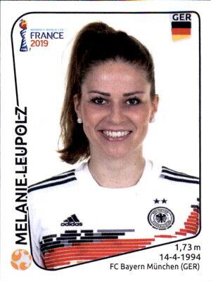 Aktiv Panini Frauen Wm 2019 Sticker 112 - Melanie Leupolz - Deutschland SchöNe Lustre