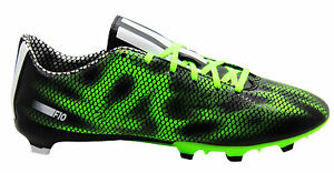 Details about Adidas F10 FG Firm Ground Mens Football Boots Soccer Black  Green B35993 B37A