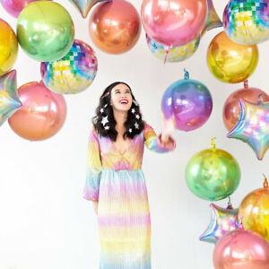 4D-LASER-VERDE-rotondo-da-discoteca-Elio-Foil-Balloon-Hawaii-Festa-di-Compleanno-Decor