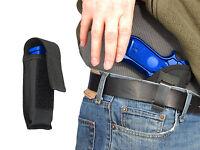 Barsony Iwb Gun Holster + Mag Pouch For Llama, Kimber Full Size 9mm 40 45