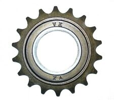 "BMX freewheel gear sprocket 18t, compatible chain 1/2"" x 1/8"", pitch 1/2"""
