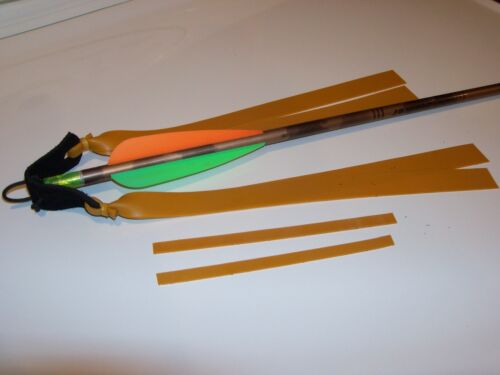 Theraband Gold 2 Layer Tapered Slingbow Bands With Quick Release And Arrow Nock