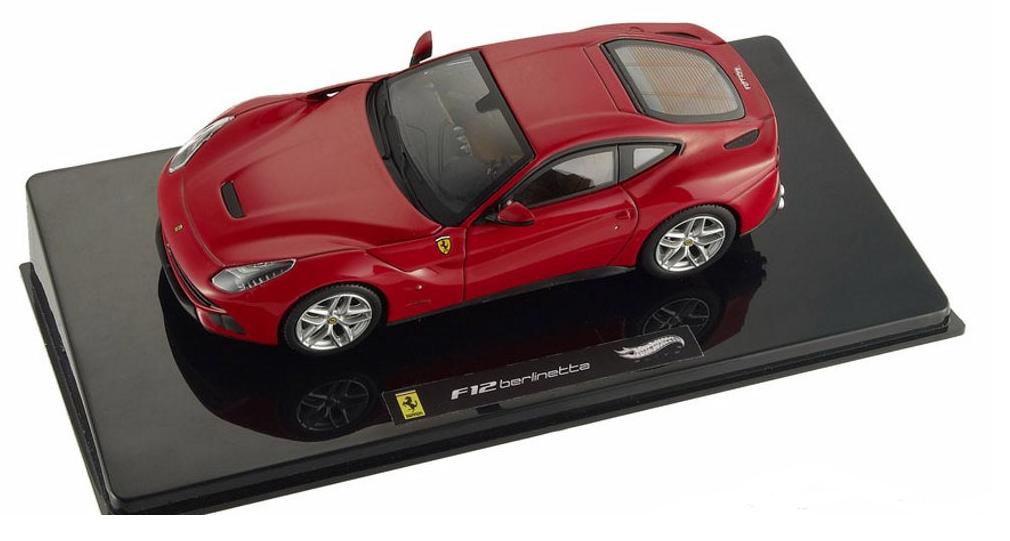 Ferrari F12 Berlinetta  rouge 1 43 X5499 Hot Wheels Elite