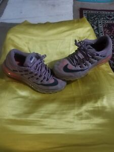 Details about WOMEN'S NIKE AIR MAX 2016 PURPLE AND ORANGE PREOWNED GREAT CONDITION