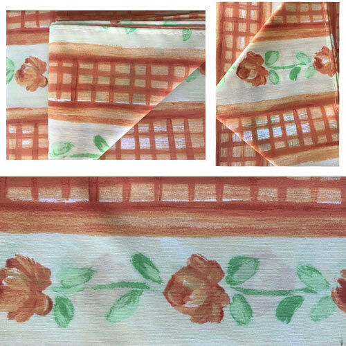 1 Table Runner And 4 Table Napkins Terracotta Provence 5 Piece Table Set