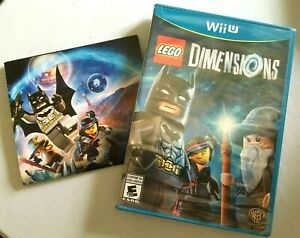 * New Factory Sealed Lego Dimensions Nintendo Wii U Wiiu Game With Poster 👾