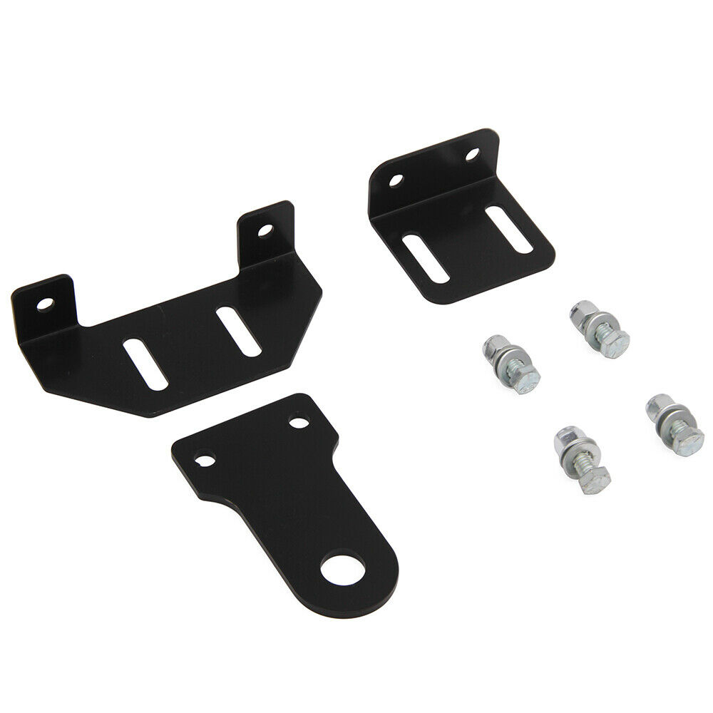 """Universal 5/"""" Rise 3 Way Lawn Garden Tractor Hitch with Support Brace Kit"""