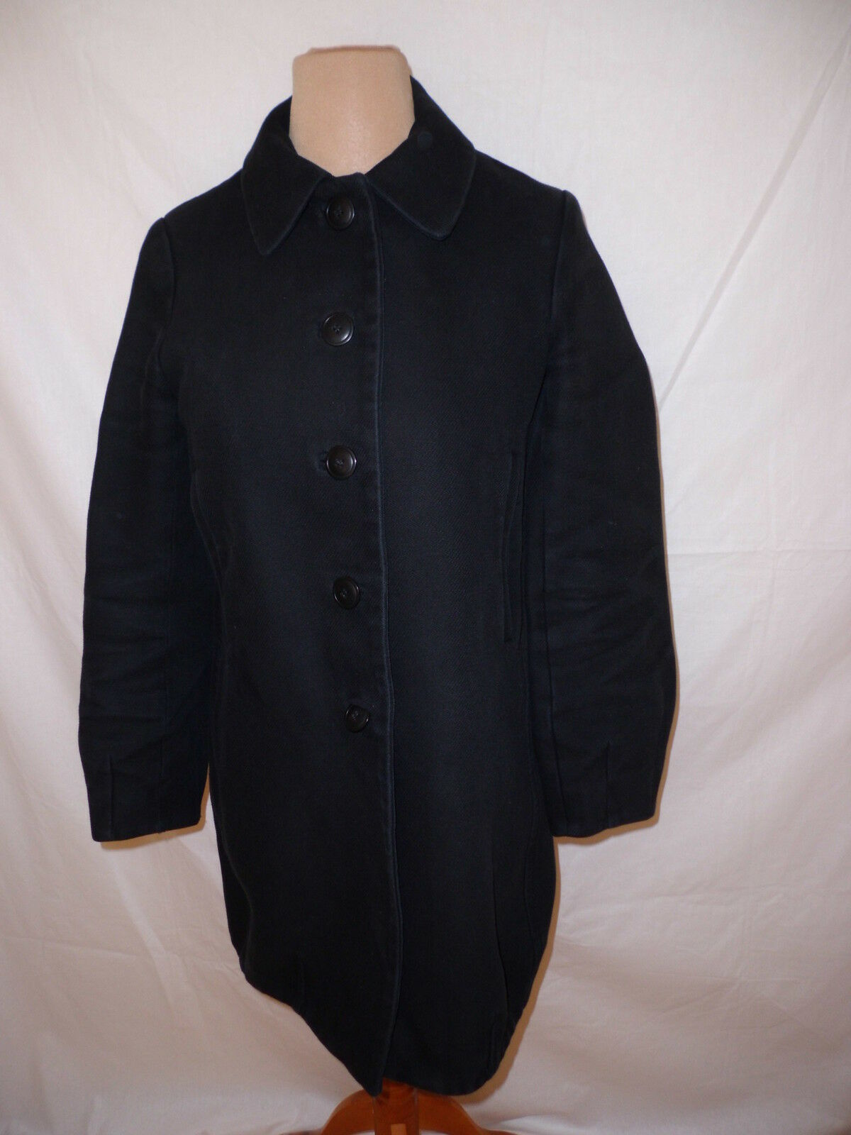 Mantel Comptoir des Cotonniers Ashley black Größe Größe Größe 38 à -62% 8fa4d3