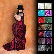 Viktorianisch Turnürenkleid Gothic Bustle Ball  Kleid, Maßgeschneidert