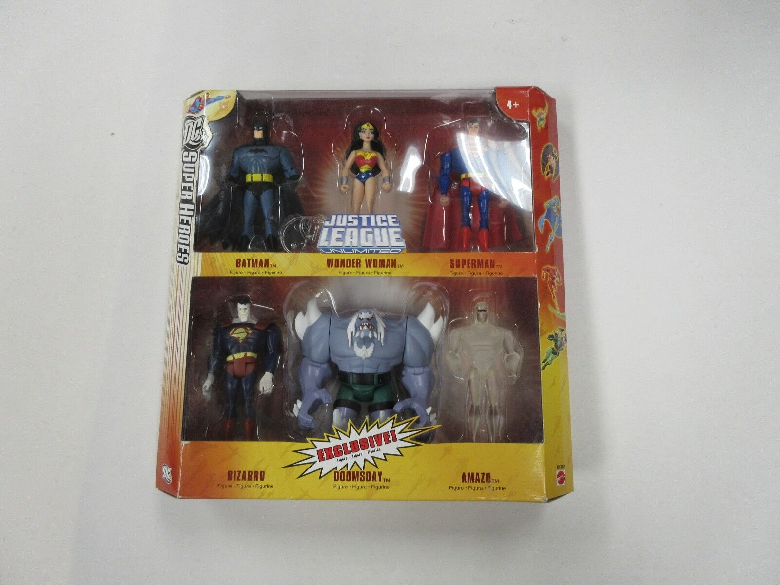 Dc comics super heroes 6 festgelegten zahl batman - wonder woman amazo etc nib