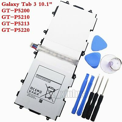 NEW Battery Samsung Galaxy Tab 3 10.1 GT-P5200 GT-P5210 P5220 T4500E TOOLS