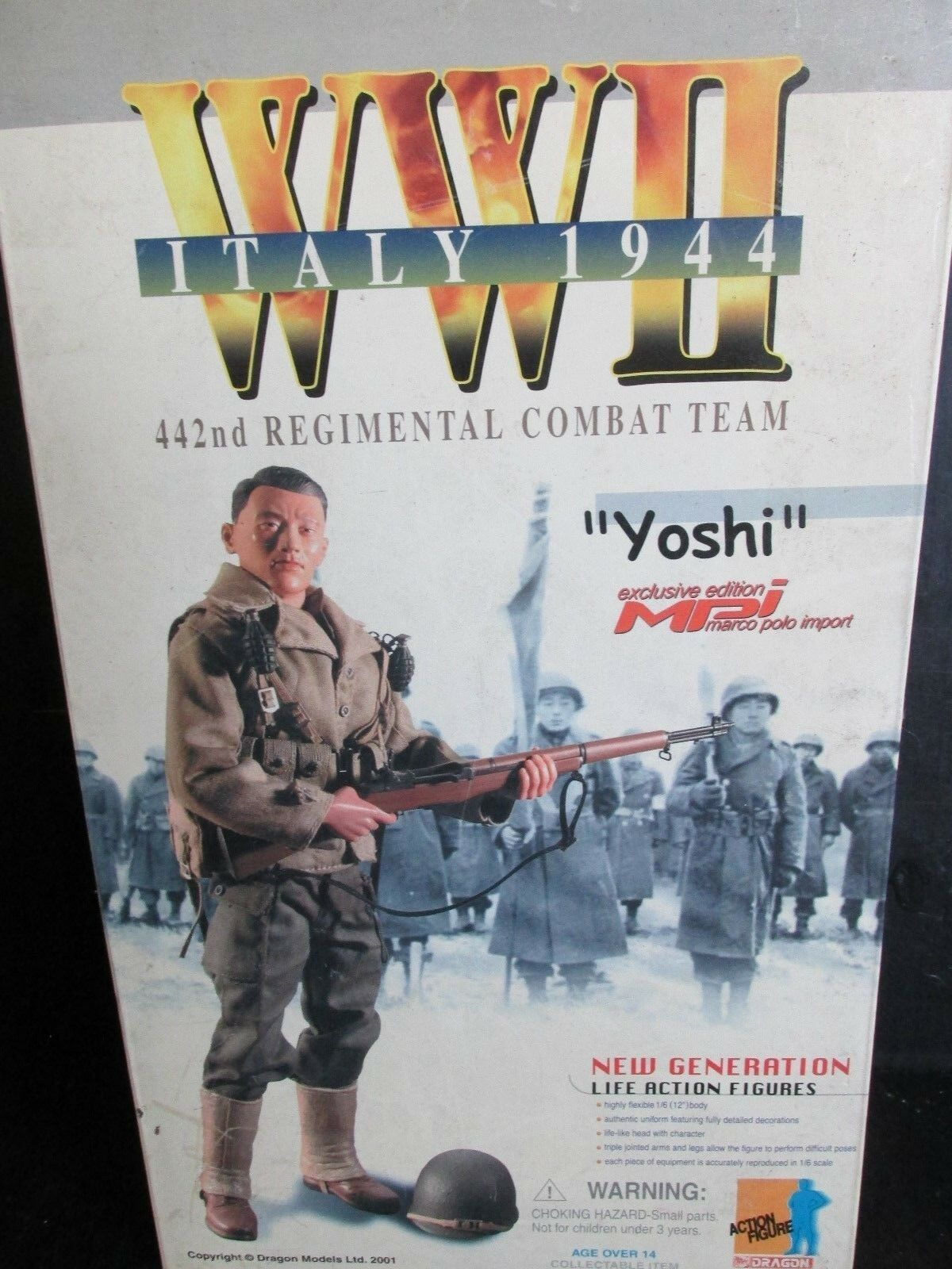 Dragon+ 1 6th scale Action figures WW11 ITALY 1944   YOSHI