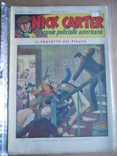 Nick Carter Il Grande poliziotto americano Anni 40 n°94 ed. NERBINI  [G369]