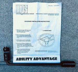 NEW-MPS-LEFT-HAND-GEAR-SHIFT-LEVER-Inventory-Clearance-Sale-BRAND-NEW